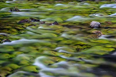 Photograph - Luminous Waters 1 by Leland D Howard