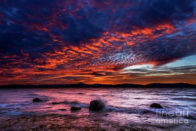 Photograph - Lummi Shore Sunrise by Paul Conrad