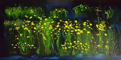 Painting - Lumonious Buds     17 by Cheryl Nancy Ann Gordon
