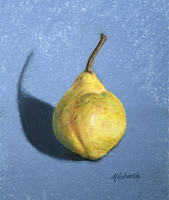 Painting - Lumpy Pear by Marna Edwards Flavell