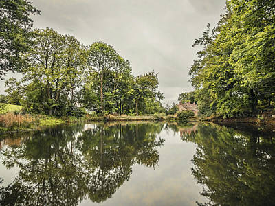 Photograph - Lumsdale Mill Pond by Nick Bywater