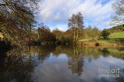 Photograph - Lumsdale Pool by Steev Stamford