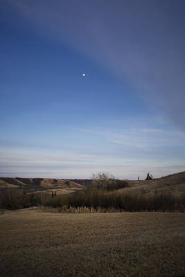 Photograph - Lumsden Moon Rising by Ellery Russell