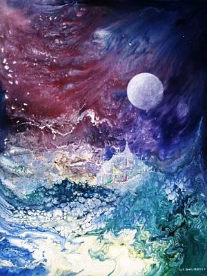 Luna Chrysalis Art Print by Lee Pantas