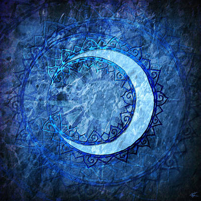 Digital Art - Luna by Kenneth Armand Johnson