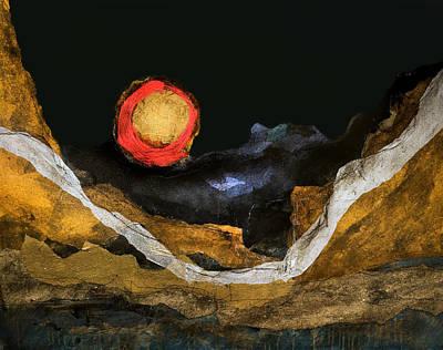 Painting - Luna Loca by Michaelalonzo   Kominsky