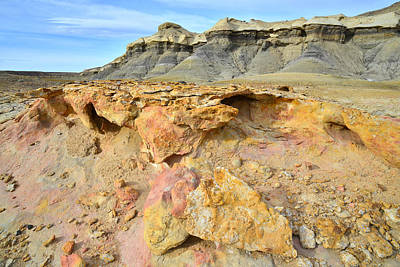 Photograph - Luna Mesa Color Splash by Ray Mathis