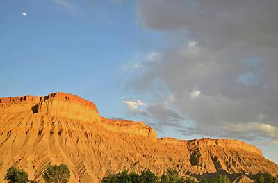 Photograph - Luna Mesa Moonrise by Ray Mathis