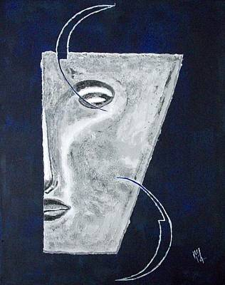 Philosophy Painting - Luna by Nick Young
