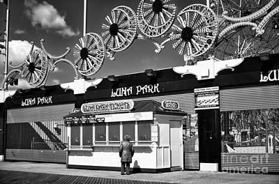 Photograph - Luna Park Hours by John Rizzuto