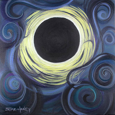 Painting - Luna Synchronicity by Jaime Haney