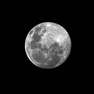 Photograph - Lunar 1 by Nicholas Blackwell