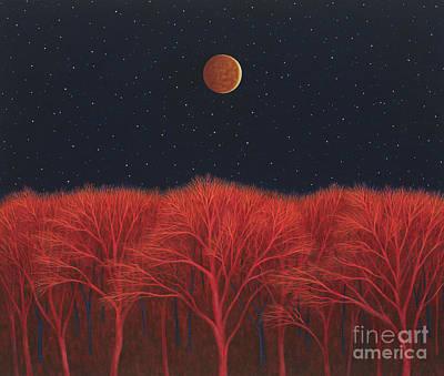 Painting - Lunar Eclipse II by Scott Kahn