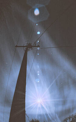 Photograph - Lunar Flare by Philip A Swiderski Jr