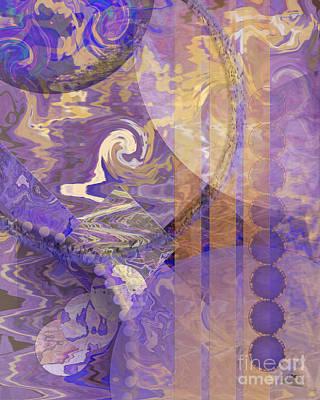 Lunar Impressions Art Print by John Beck