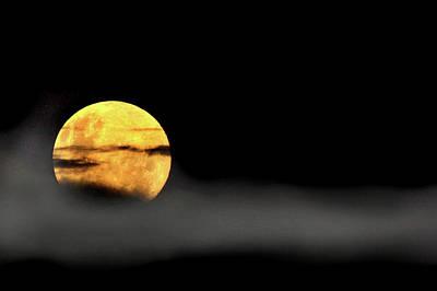 Photograph - Lunar Mist by Marion Cullen