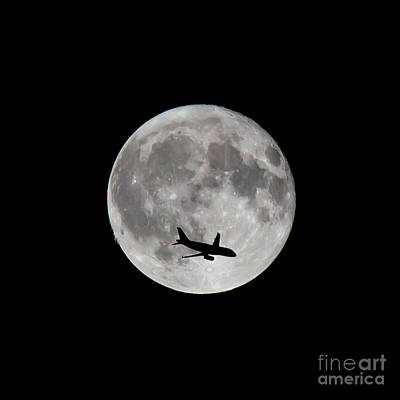 Photograph - Lunar Silhouette 2 by Kevin McCarthy