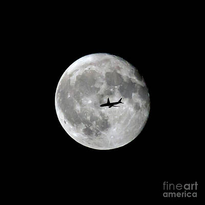 Photograph - Lunar Silhouette 3 by Kevin McCarthy