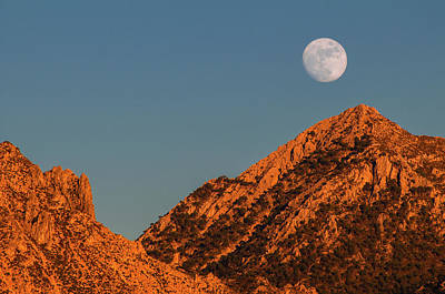 Photograph - Lunar Sunset by Geoff Smith
