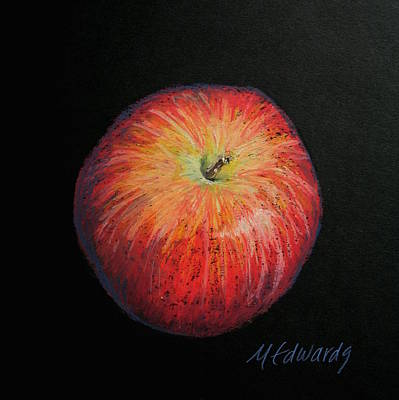 Painting - Lunch Apple by Marna Edwards Flavell