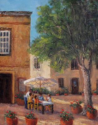 Painting - Lunch At The Plaka by Jill Musser