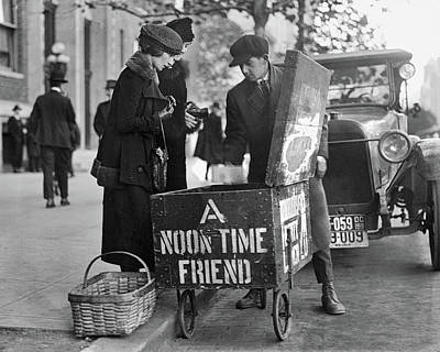 Photograph - Lunch Cart In Washington D C by Anthony Murphy