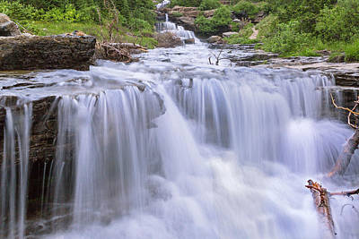 Photograph - Lunch Creek Falls by Jack Bell