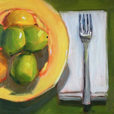 Painting - Lunch by Nancy Merkle