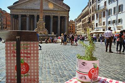 Photograph - Lunch Pantheon Style by JAMART Photography