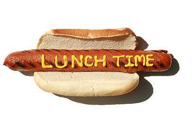 Lunch Time Art Print by Michael Ledray
