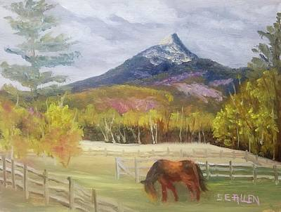 Mt Chocorua Painting - Lunch With A View by Sharon E Allen