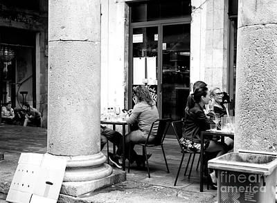 Photograph - Lunch With Friends by John Rizzuto