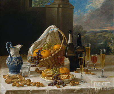 Painting - Luncheon Still Life by Celestial Images