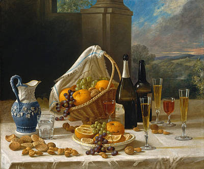 Painting - Luncheon Still Life by John F Francis