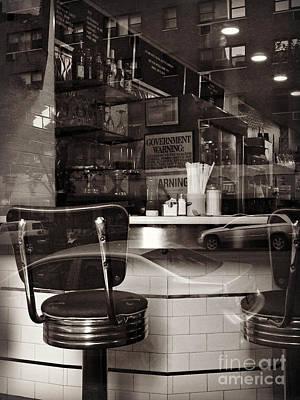 Anne Geddes Large Format Polaroids - Luncheonette 2 by Miriam Danar