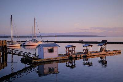Photograph - Lund Harbour by Cheryl Hoyle