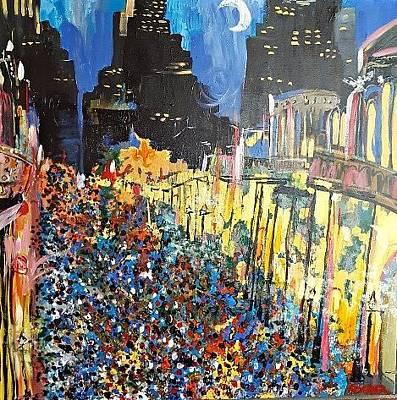 Painting - Lundi Night New Orleans by Kerin Beard