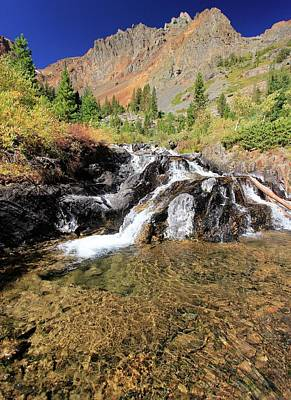 Photograph - Lundy Canyon Gold by Sean Sarsfield
