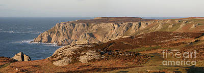 Photograph - Lundy Island Panorama by Warren Photographic