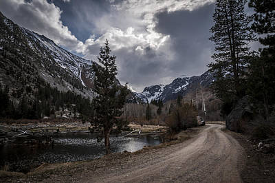 Photograph - Lundy Lake Road by Cat Connor