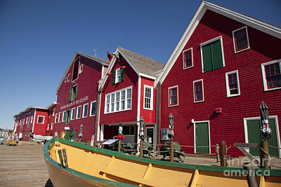 Photograph - Lunenburg, Nova Scotia by Nick Jene
