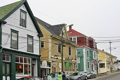 Photograph - Lunenburg, Nova Scotia by Tatiana Travelways