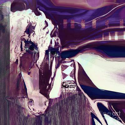Lungta Windhorse No 5 Art Print