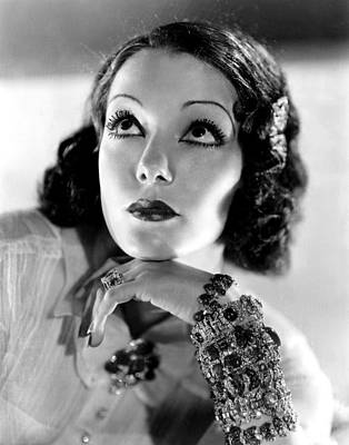 Diamond Bracelet Photograph - Lupe Velez, Mgm, 1933, Photo by Everett