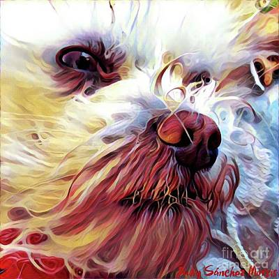 Digital Art - Lupi by Judy Morris