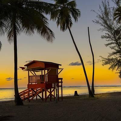 Photograph - Luquillo Sunset  by Jim Bosch