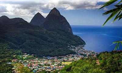 Saint Lucia Photograph - Lure Of Saint Lucia by Karen Wiles