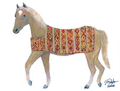 Luri Pony Art Print