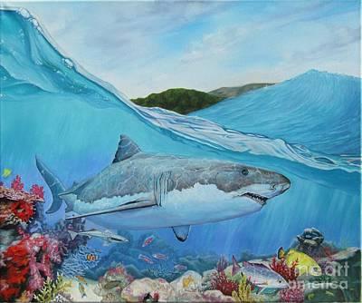 Painting - Lurking by Heidi Parmelee-Pratt