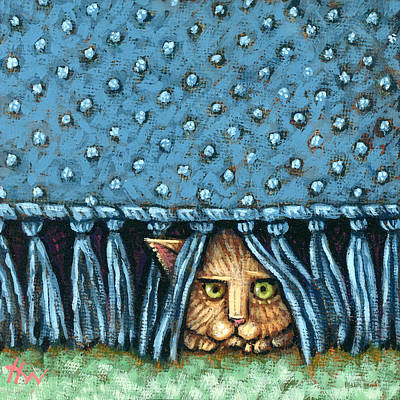 Painting - Lurking by Holly Wood